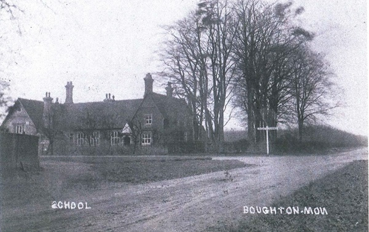 The School from Heath Road